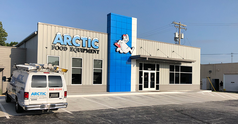 arctic food equipment showroom